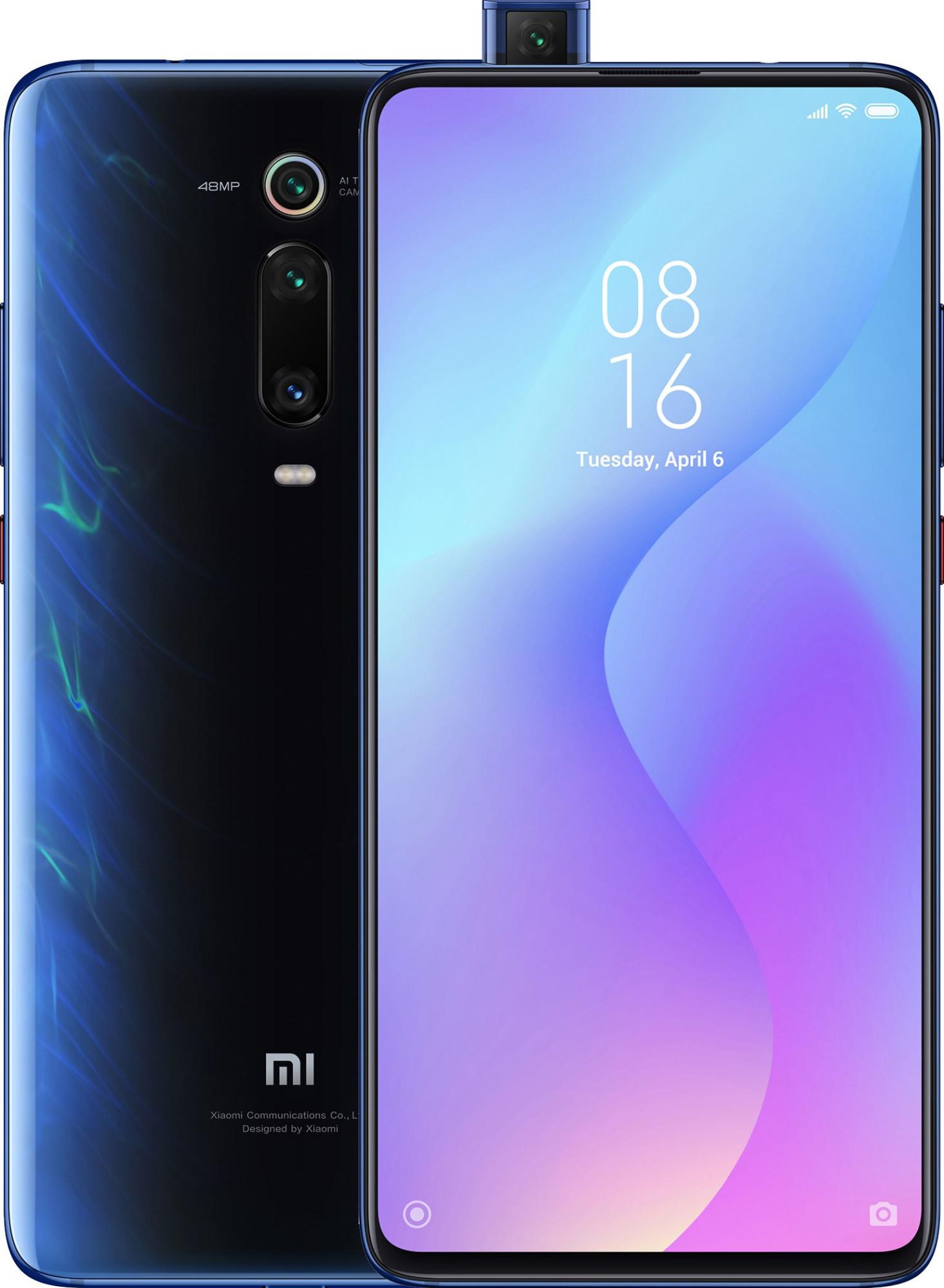 Купить Смартфон Xiaomi Mi 9T 6/128 Gb (синий) в Москве, быстрая доставка, низкие цены